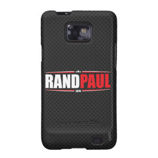 Rand Paul 2016 (Stars & Stripes - Black) Samsung Galaxy SII Covers