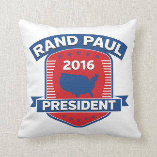 Rand Paul 2016 Throw Pillow