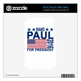 Rand Paul 2016 Tshirts.png Skin For iPod Touch 4G