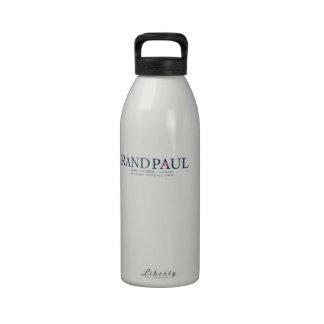 Rand Paul 2016 Water Bottles