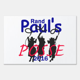 Rand Paul 2016 Signs