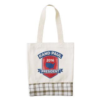 Rand Paul 2016 Zazzle HEART Tote Bag