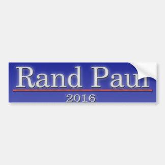 Rand Paul Pegatina Para Auto