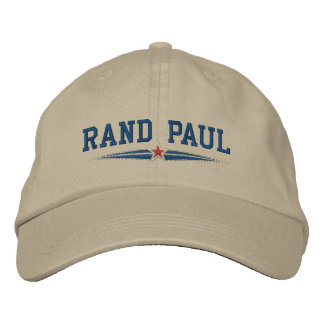 Rand Paul Campaign Embroidered Hats