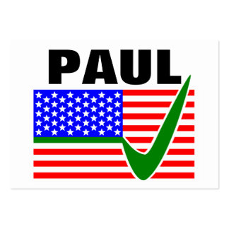 Rand Paul for President 2016 Large Business Cards (Pack Of 100)