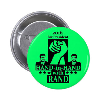Rand Paul for President 2016 2 Inch Round Button