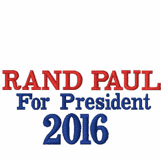 Rand Paul For President 2016 Ladies White Shirt Jackets