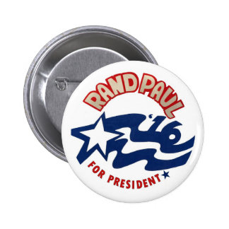 Rand Paul for President 2016 Pinback Button