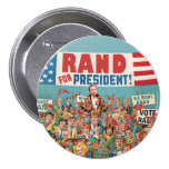 Rand Paul for President 2016 Pins