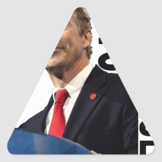 RAND PAUL FOR PRESIDENT 2016 ''.png Triangle Sticker