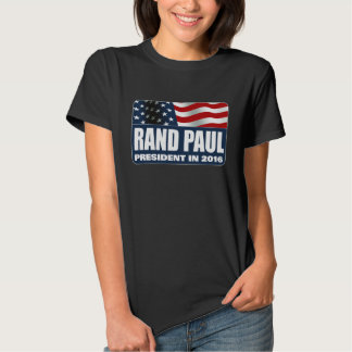 Rand Paul for President 2016 Tee Shirts