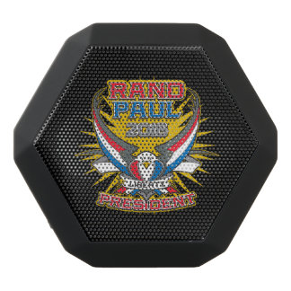 Rand Paul for President Black Bluetooth Speaker