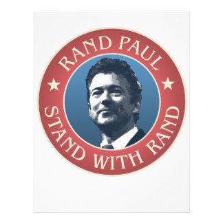 Rand Paul for president Flyer