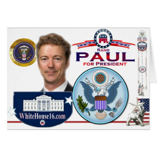 Rand Paul for President Greeting Card