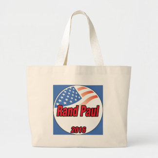 Rand Paul for President in 2016 Large Tote Bag
