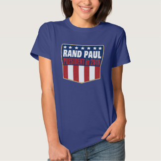 Rand Paul for President in 2016 Shirts
