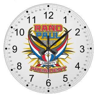 Rand Paul for President Large Clock