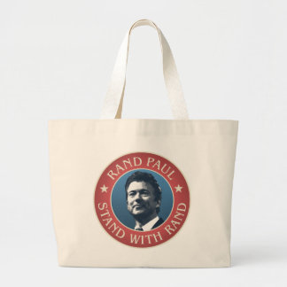 Rand Paul for president Large Tote Bag