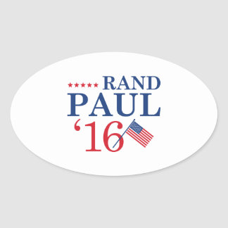 Rand Paul For President Oval Sticker