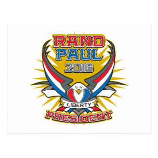 Rand Paul for President Postcard