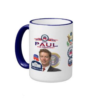 Rand Paul for President Ringer  Mug