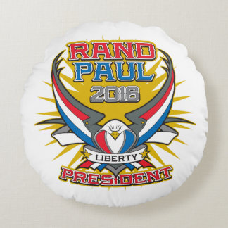 Rand Paul for President Round Pillow