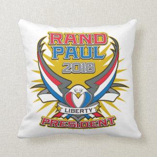 Rand Paul for President Throw Pillow