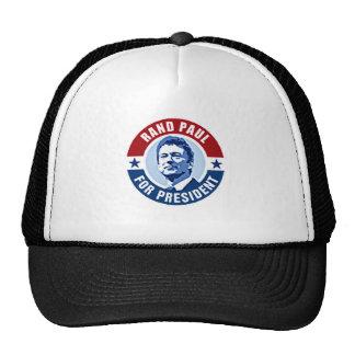 RAND PAUL FOR PRESIDENT TRUCKER HAT
