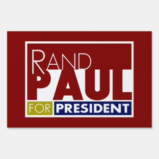 Rand Paul for President V1 Lawn Signs