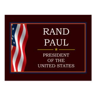 Rand Paul for President V3 Postcard