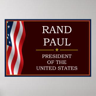 Rand Paul for President V3 Posters