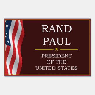 Rand Paul for President V3 Lawn Sign