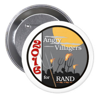 Rand Paul for Prez Pinback Button