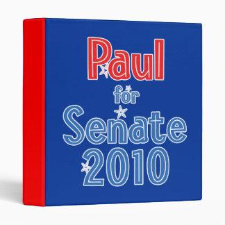 Rand Paul for Senate 2010 Star Design 3 Ring Binder