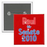Rand Paul for Senate 2010 Star Design Pinback Button