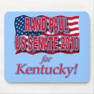 Rand Paul for Senate 2010 Tshirts and Buttons Mouse Pad
