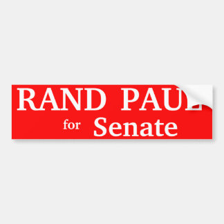 RAND PAUL , Kentucky Senate Bumper Sticker