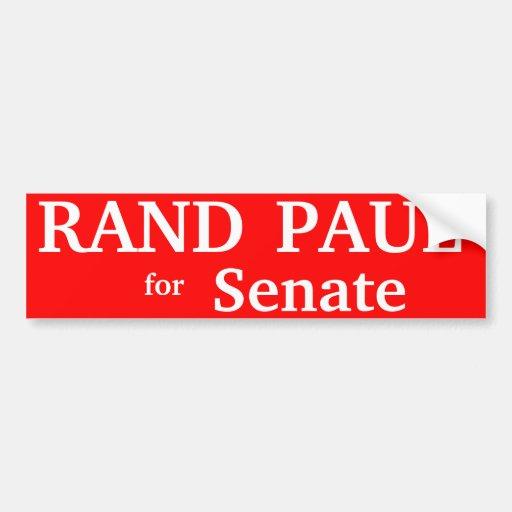 RAND PAUL , Kentucky Senate Car Bumper Sticker