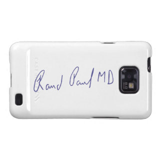 Rand Paul MD Signature Autograph Samsung Galaxy SII Cover
