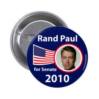 Rand Paul para el botón del senado Pins