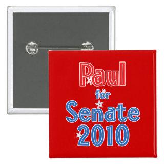 Rand Paul para el diseño de la estrella del senado Pin Cuadrado