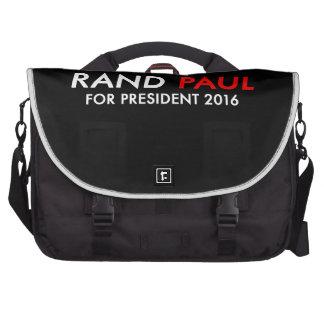 Rand Paul para el presidente 2016 Bolsas De Portátil