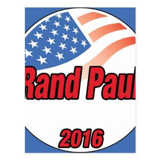Rand Paul para el presidente en 2016 Postal