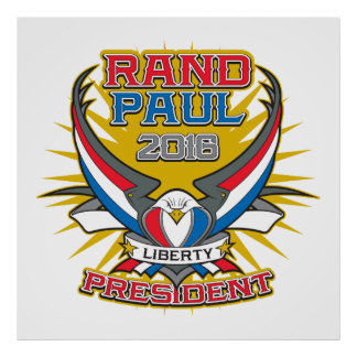 Rand Paul para el presidente Póster