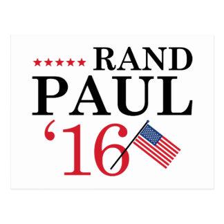 Rand Paul para el presidente Tarjeta Postal