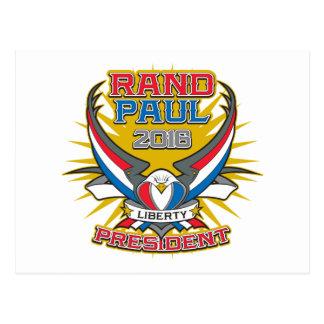 Rand Paul para el presidente Tarjetas Postales