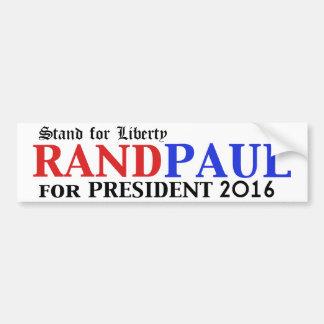 Rand Paul para la pegatina para el parachoques 201 Pegatina Para Auto