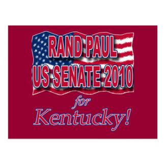 Rand Paul para las camisetas y los botones del Tarjetas Postales