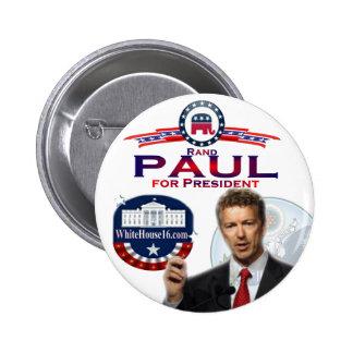 Rand Paul para presidente Button Pins