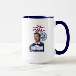 Rand Paul para presidente Ringer Mug